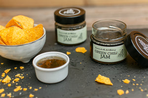 GREEN CHILI JAM (150g) - Luscious Earth, Hot Ottakring