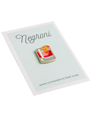 Negroni Pins from Love & Victory
