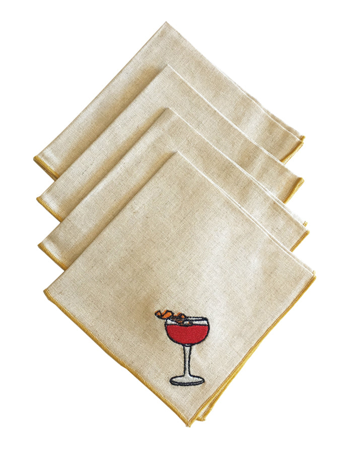 Cocktail Napkins from Dot & Army