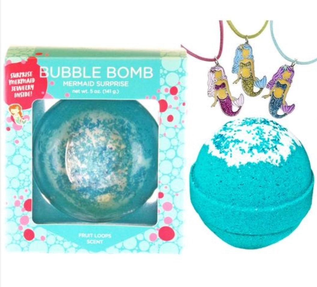 Surprise Inside Bath Bomb- mermaid