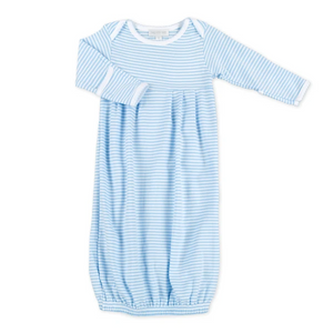 Magnolia Baby Blue Stripe Baby Gown