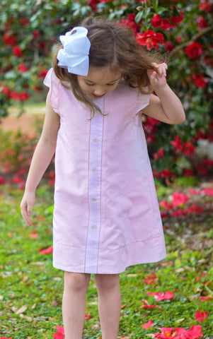 Tea Party dress- pink or blue