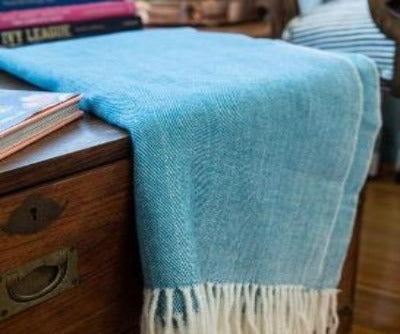 Herringbone Throw (mult colors)