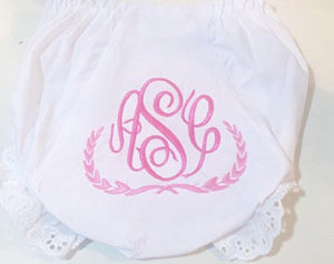 Monogrammed Bloomers- design your own