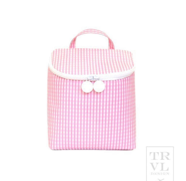 TRVL Insulated Lunch Tote (mult colors)
