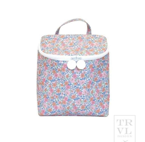 TRVL Insulated Floral Lunch Tote