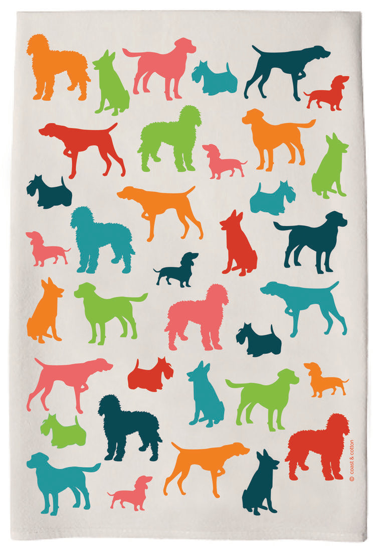 Hand towel- Dogs