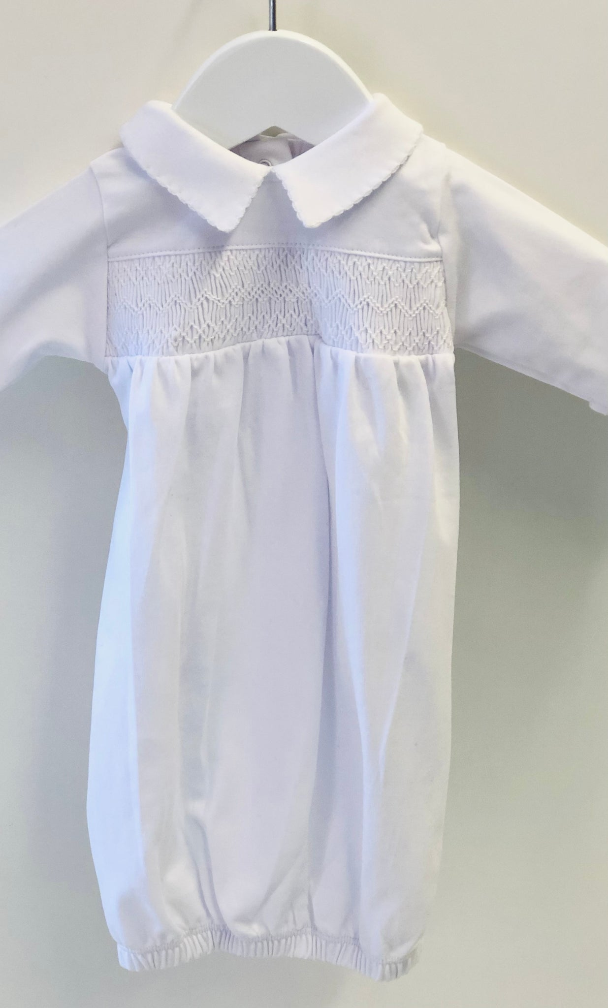 Magnolia Baby Smocked White Daygown