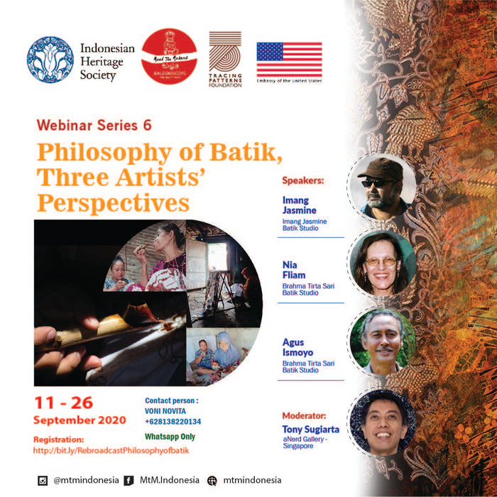 Philosophy of Batik, Three Artists' Perspectives Webinar