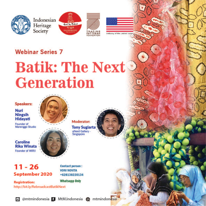 Batik -The Next Generation Webinar