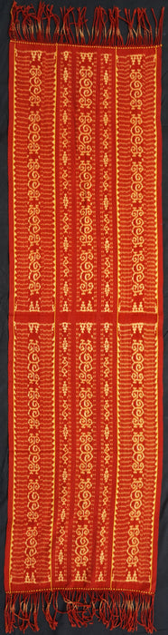 Tewuni Rai Savu - Shoulder cloth with 3 bands of the motif kejanga hi'i wotelu huri kejanga