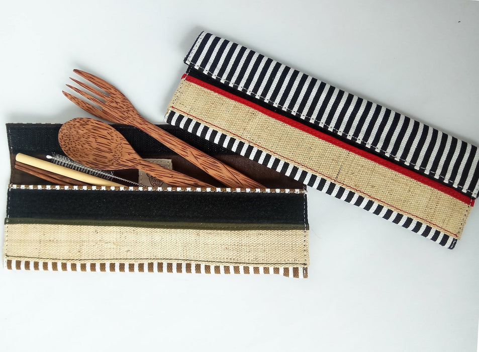 Borneo Chic - Cutlery Set Stripe