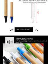 Load image into Gallery viewer, Eco Friendly Ink Pens (100 pens per pack)