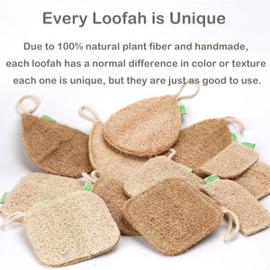 Natural Fiber Reusable Kitchen Sponge 3 Piece Set