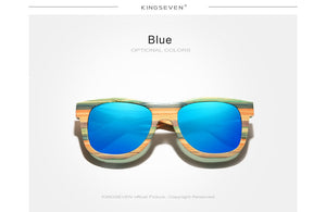Retro Bamboo Unisex Polarized Sunglasses