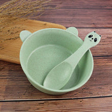Load image into Gallery viewer, 3 Piece Set Wheat Straw Dish for Kids