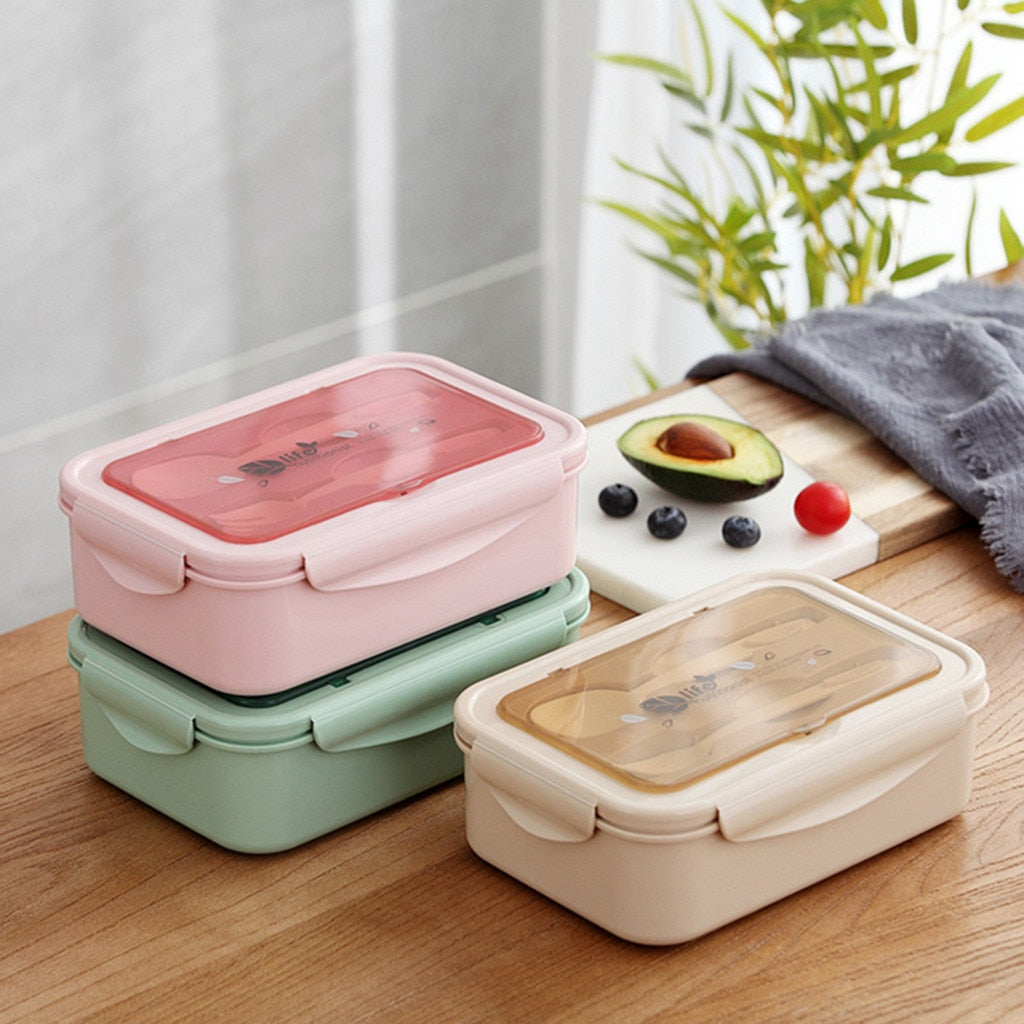 Microwaveable Wheat Straw Lunchbox