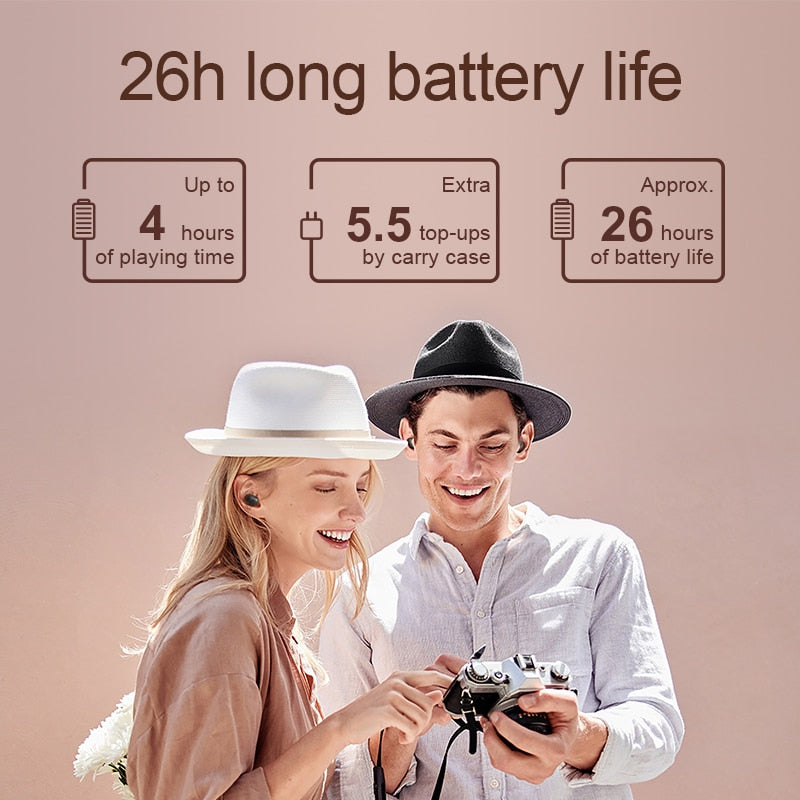 Long Battery Bluetooth Earphones
