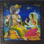 Wall Decor Radha Krishna Mat Finish