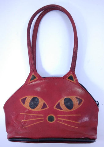 Leather Hand Bag Small