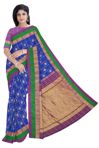 Gadwal Pure Silk R/P Big Border Saree W/B