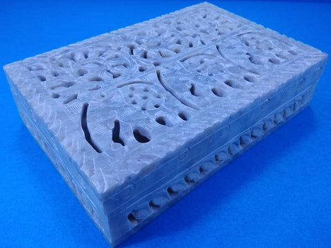 Stone Box Carving
