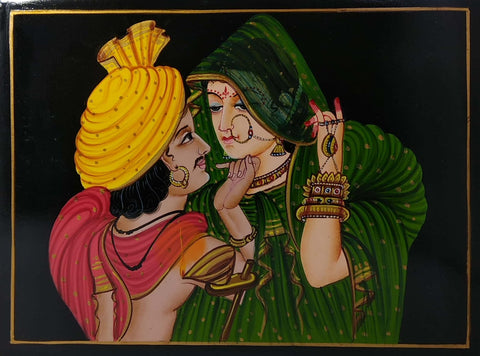 Nirmal Painting Marriage Couple 11x8
