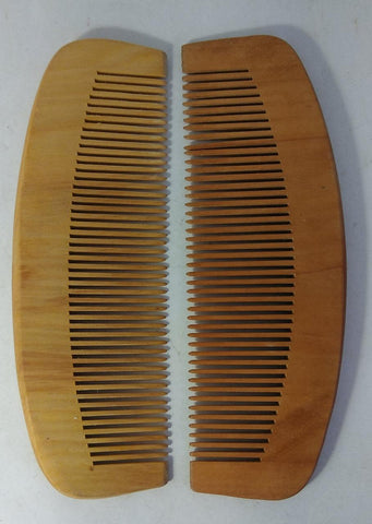 Wooden Combs (Pack of 2)