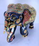 Wooden Elephant Fine Painted