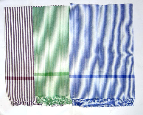 Handloom Towel Big (Pack Of 3)