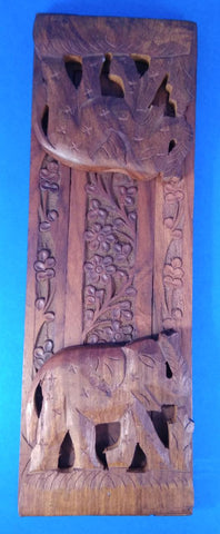Saharanpur Wood Book end stand