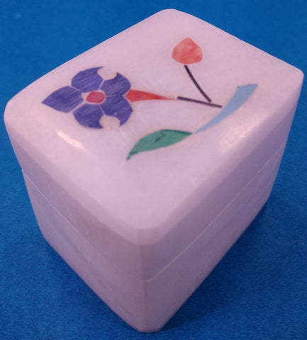 Marble Inlay Box W/Tajmahal