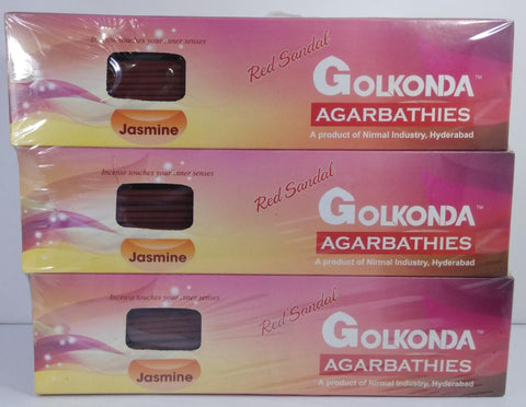 Sandalwood Agarbathies Jasmine 100Grms (Pack of 12)