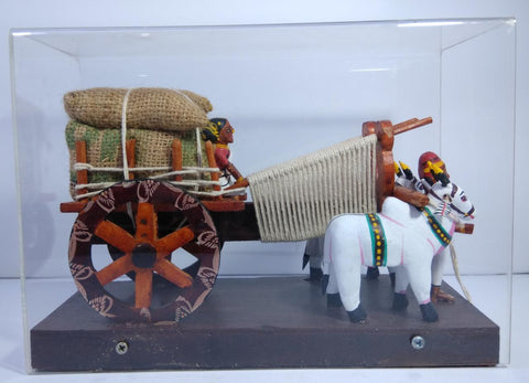 Kondapalli Toys Bullock Cart With Box