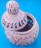 Stone Handi Box Carving