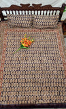 Kalamkari Double BedSheet W/Pillow Covers