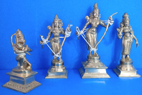 Bronze Rama Set 6 Inch