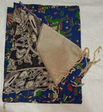 HL Kalamkari Dress Material 3Pcs Embroidary Work