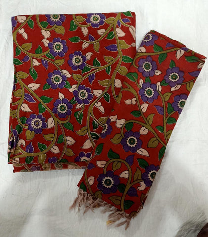HL Kalamkari Dress Material 2Pcs