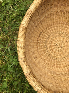 Bolgatanga Basket of Joy, natural colour, small size
