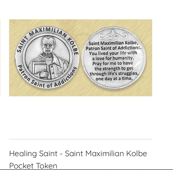 Healing Saints Pocket Tokens