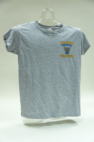 Girls Gray Gym Tee - SALE