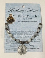St. Francis of Assisi Charm Bracelet