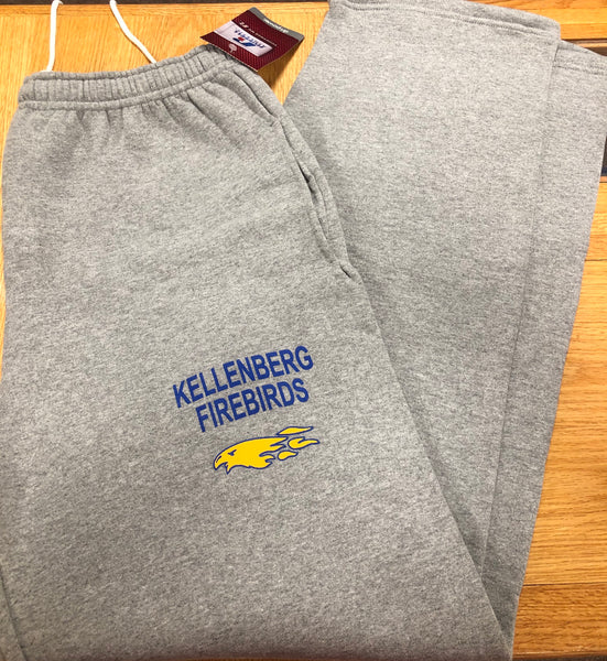 "Gray ""Kellenberg Firebirds"" Sweatpants"