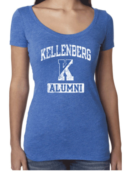 Alumni Ladies Vintage Tee