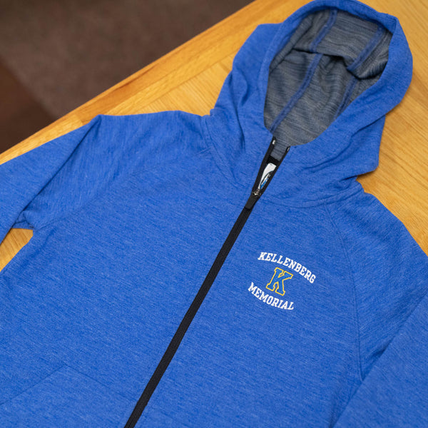 ES Sports Tri-Blend Full Zip Sweatshirt