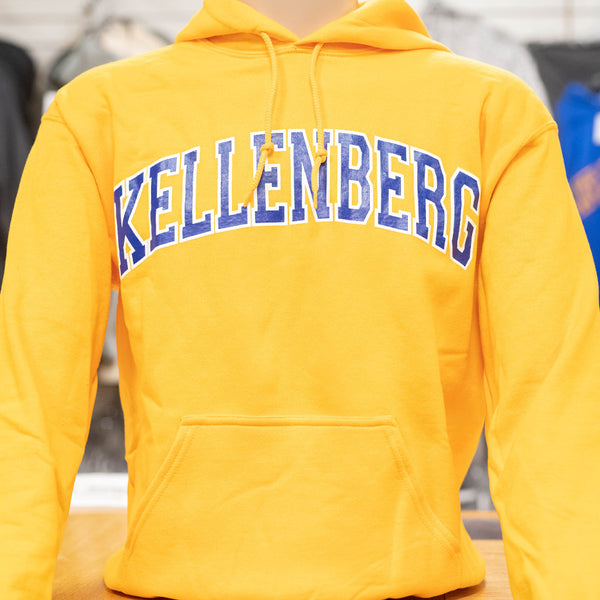 Gold Collegiate Hoody