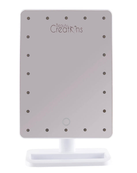 Beauty Creations (White) 20 LED Tough Mirror
