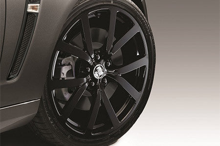 20 x 8.5 HF-20 Staggered Forged Alloy Wheels TPM - Black
