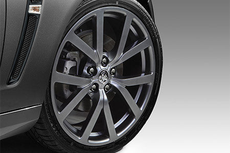 20 x 8.5 HF-20 Forged Alloy Wheels - Midnight Silver